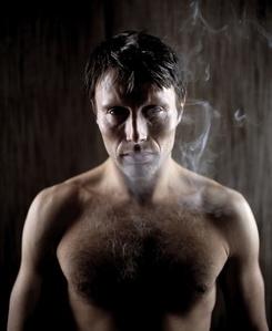 Mads Mikkelsen smoking hot <3
