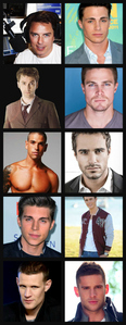 My superiore, in alto 10 ALWAYS change so at the moment it's this : 1. John Barrowman(Top left) 2. Colton Haynes(Top right) 3. Stephen Amell(2nd row down, right) 4. David Tennant(2nd row down, left) 5. Dan Ewing(Last row,right) 6. Didier Cohen(3rd row down, left) 7. Marco Dapper(3rd row down, right) 8. Nolan Funk(4th row down, Left) 9. Matt Smith(Last row, left) 10. Andrew Morley(4th row down, right)