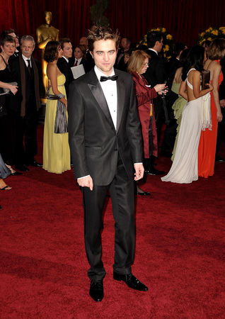 my dashing British baby on the red carpet at the Oscars<3