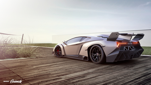 The beautiful Lamborghini Veneno. I don't know why a lot of people don't like it.