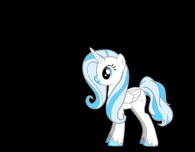 Name: Snowy Rosen Type: Alicorn Cutie Mark: blume Job: None Mane: Lightblue,Blue