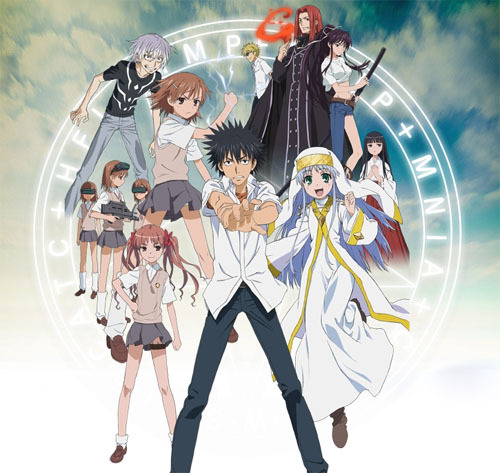 I have recently finished watching Katekyo Hitman Reborn and started with To Aru Majutsu no Index (pic).