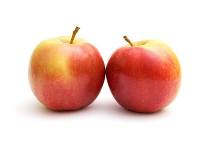 I guess if anda TAKE them, then what anda TOOK would be two. So my guess is, you'd have two apples?