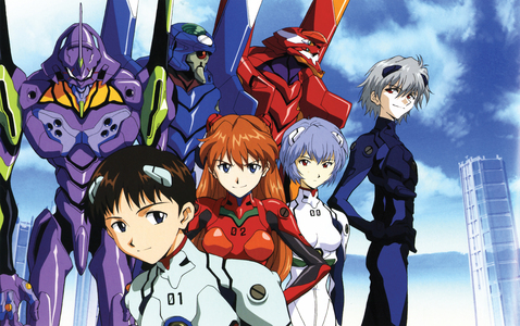 Well, I just began watching Neon Genesis Evangelion yesterday! (I will admit, I'm pretty late to the party---)