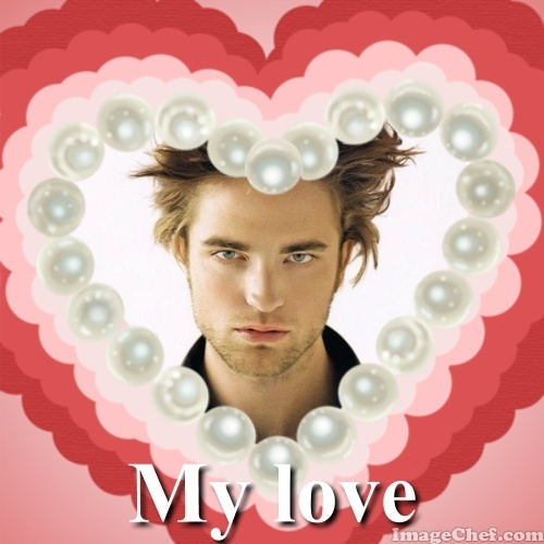 Robert Pattinson is my love... FOREVER!!!!!!!!!!<3<3