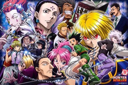 hunter x hunter 2011 (a masterpiece imo) ace of diamond hajime no ippo rising one piece kuroko no basket s2