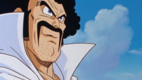 I always liked Hercule's mustache from Dragon Ball Z : {