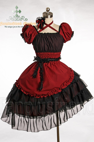 I've been a long admirer of Lolita fashion. 고딕 Lolita in particular, but I 사랑 all styles of it. This is one of my dream dresses.