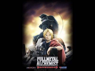 I've started watching Full Metal Alchemist Brotherhood. My Marafiki absolutely upendo it, and recommended it to me. :) It is quite good so far. (And I can't stop listening to the first opening song. SO good...)