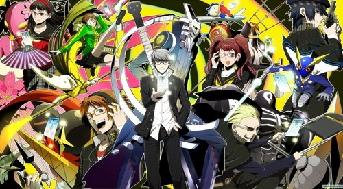 Persona 4: The Animation: Where do I even begin. The personas (the fighting characters) are purely based off of mythology, legends, and gods. I'll orodha some... Izanagi= Male Japanese creation deity Izanami= Female Japanese creation deity/Fallen Jack Frost= Winter spirit from English tales Pyro Jack= An old Irish Fable/ Will-o'-the-wisp Tomoe Gozen- a female samurai during the Genpei War Suzuka Gongen- legendary female bandit/ goddess Jiraiya= Ninja of Japanese folklore Susano-o= Storm of the summer. Brother of Amaterasu Konohana Sakuya= Daughter of mountain god/ faithful cherry Amaterasu= Sun goddess born from Izanagi's eye Take-Mikazuchi= born from the blood on the sword of Izanagi Rokuten Maoh= Demon King of the Sixth Heaven/ temptation Kintoki-Douji= legendary mountain boy/ animals/ strength Kamui= Ainu mythology/ god of the Bears Himiko= Shaman Queen on an island of Japan/ Magic/Unity Kanzeon= Chinese goddess of mercy and compassion Sukuna-Hikona= Dwarf deity of healing Yamato-Takeru= Legendary prince/ Great white Bird spirit I find this stuff so interesting so I really liked learning about it on my own. The anime itself doesn't tell wewe a lot of the background info on these characters it just has the characters as a base. But the personas fight so it's interesting to see their abilities. I recommend watching this anime (and I recommend the english dub version because the voices are perfect)