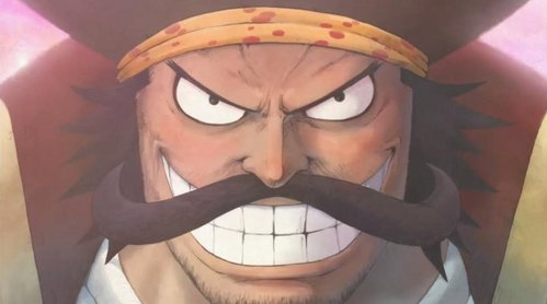 Gol.D.Roger (One Piece) King of the pirates with big mostache........he he hehe