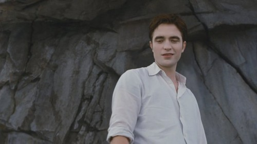 Robert in a white shirt<3