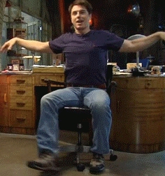 John in a spin!