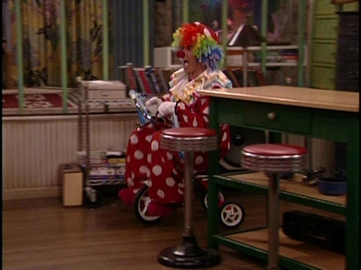 Matthew being cute dressed as a clown <33333333