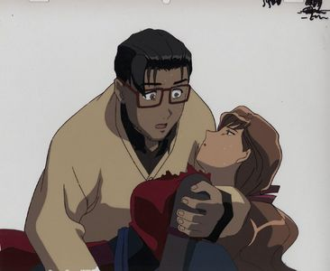 """An anime character who might almost fit the """"arche-type"""", but is not actually a step-mother, would be Mikage Tsumura from Jubei-Chan. She bore a striking resemblance to Jiyu's mother, and her father fell for her momentarily even though he knew she was married. Of course, she was an enemy, but became Marafiki after being defeated. I forget how much she tried to assume the role of """"mother"""" while plotting a way to steal the lovely eyepatch, but I think she was manipulative. A non-anime example that can to mind was Sedusa from the Power Puff Girls. Image: http://cardonanavas.deviantart.com/art/SEDUSA-flirts-60384301"""