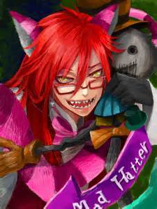 sadly i meow whether my cat meows или not...it's Cheshire Grell...he's taking over... или sure, blame it on meow. *sounds disgusted*
