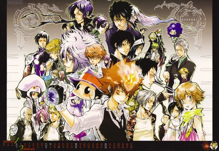 My 상단, 맨 위로 10 anime: 1. Fairy tail /One Piece ( can't decide) 2. 나루토 Shippuden/ Bleach ( can't decide) 3. Katekyo Hitman Reborn! (pic) 4. Fullmetal Alchemist: Brotherhood 5. Attack on Titan 6. Black Butler 7. Deatch Note 8. Soul Eater 9. Shiki 10. Daily lives of highschool boys