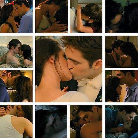 Robert and Kristen ciuman in BD part 1<3
