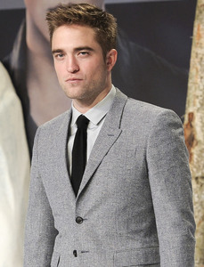 my gorgeous man in grey at the BD 2 premiere in Germany<3