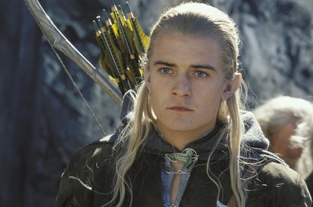 Orlando Bloom in LOTR The Two Towers in '02
