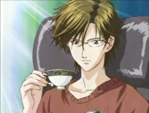 "Tezuka from Tenisu no Oujisama... Both have ""T"""