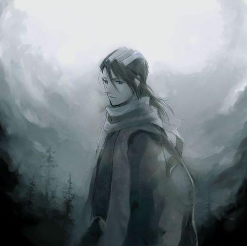 Byakuya Kuchiki from Bleach.