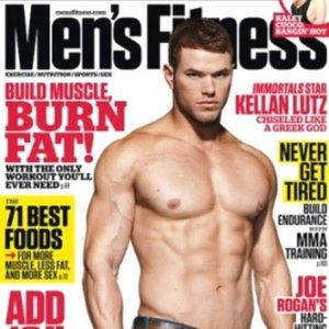 Kellan Lutz is f-AB-ulously ripped<3