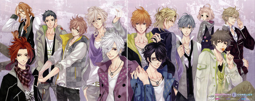 One I saw recently that exceeded my expectations was Brothers Conflict. I'm a sucker for most reverse harems but lets face it... most are there just for the fangirl moments haha. That's not to say Brothers Conflict doesn't have those moments, I was fangirling most of the time, but I just didn't expect there to be that many characters that I would truly like. And characters that actually had.... personality. Reverse harem guys with personality... shocker! I was so pleasantly surprised. And the anime did a great job from staying away from the cliche 'focus on one guy per episode and then never see them again' formula. BroCon did a great job at mixing up the characters in each episode and bạn never knew which guy would hiển thị up. This leaves the viewer plenty of pairs to choose from and in my case I have no main pairing with Ema. Some reverse harems make is so obvious who she will end up with, hoặc who the yêu thích is. But in BroCon there are several guys I could see her ending up with. Overall, Brothers Conflict was fun. Animation, music, characters, plot line, and flow were all great! I watched it for the eye kẹo and came away surprised bởi how much I liked it. I hope there will be a một giây season.
