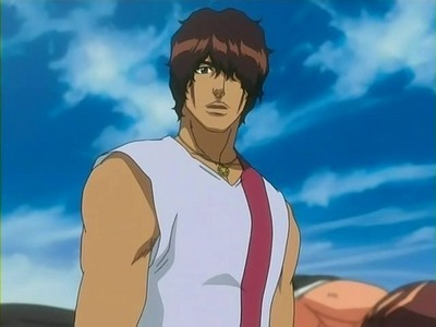 Chad (Bleach) Chad is way younger than he looks.........he he eh eh