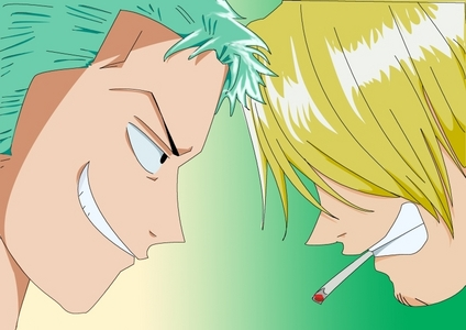 Sanji And Zoro (One Piece)