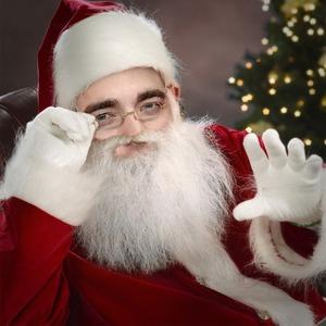 my sexy British Santa<3