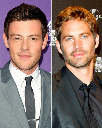 Cory and Paul,two stars who died way too soon:(