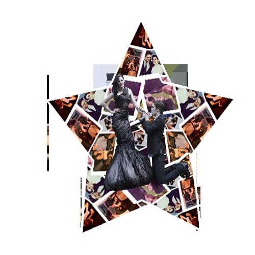 my 2 bright shining stars,Robert and Kristen<3