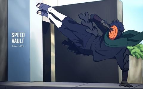 Obito Uchiha / Tobi (Naruto Shippuden) Obito Uchiha / Tobi saluting.........he eh eheh