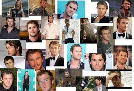 Chris Hemsworth collage<3