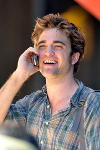 my British hottie talking to me on his cell phone<3