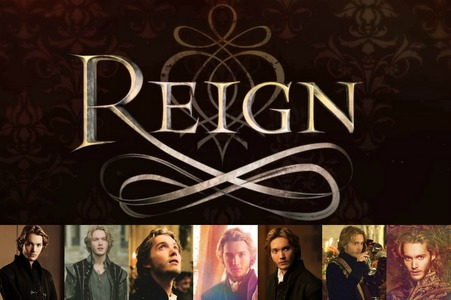 Toby Regbo collage of pictures from Reign <3