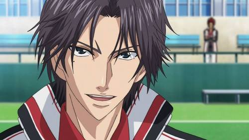 Keigo Atobe from Prince of Tennis...Even though he's a spoiled, flamboyant and a narcissistic rich middle-schooler, but I know that deep inside he's actually kindhearted and appreciates his Friends and people who were close to him and that's what made my hati, tengah-tengah touched.... <33333333333