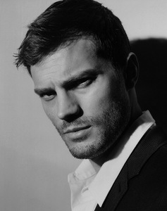 my magically delicious Jamie in b&w<3
