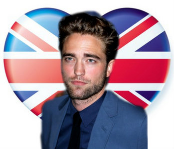my British babe with his country flag in the shape of a heart(made for me によって victoria7011)<3