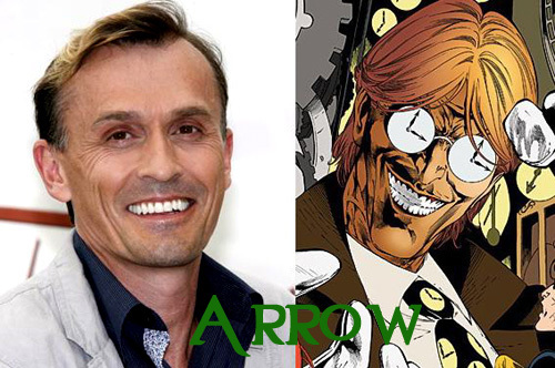 Rob will be the Clock King in ARROW!!