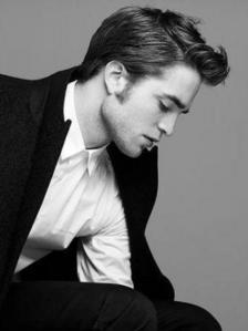 Robert's sexy,lickable cheek<3<3<3