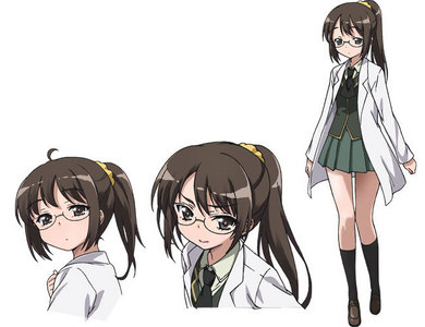 Young genius? Of course. Extremely crazy and horribly perverse? Oh. My. God. Definitely. Rika Shiguma from Haganai.