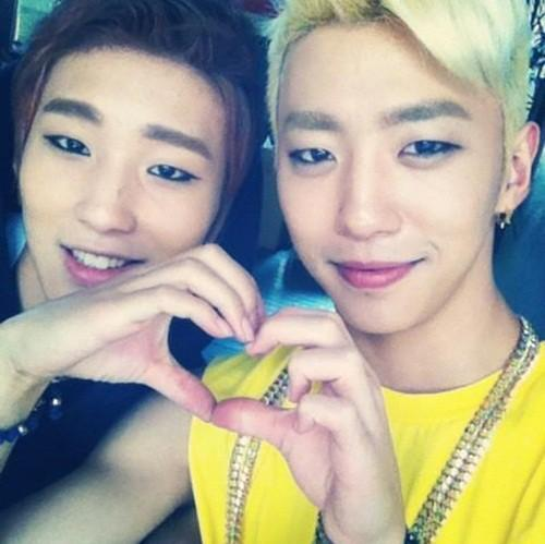 Jongup & Yongguk bu I really tình yêu B.A.P. as a whole too