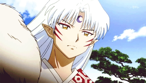 Sesshomaru (Inu Yasha) the great dog demon.......he he eh eh