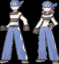 team aqua they always wear bandannas on their head for their logo