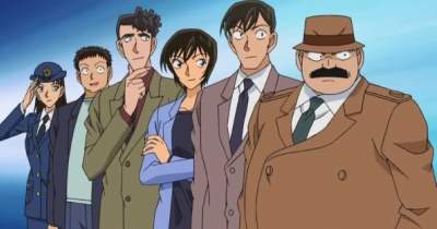 Here are the members of the Metropolitan Police Force in Detective Conan...