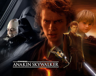 Anakin Skywalker started out good,then turned evil and became Darth Vader,but his son Luke felt some good in him before he died and at the end of Return of the Jedi was good again(albeit in spirit form)