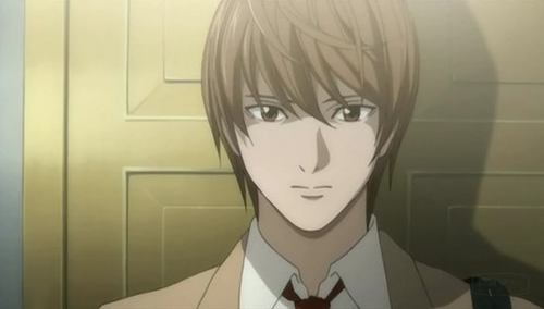 Huh...I'm surprised this answer wasn't already taken... Light Yagami, from Death Note.