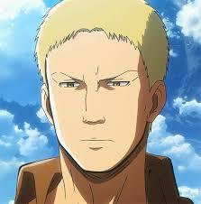 I look like Reiner from attack on titan we both have blond hair and are tall
